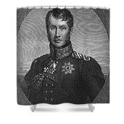 Frederick William IIi Shower Curtain