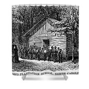 Freedmen School, 1868 Shower Curtain by Granger