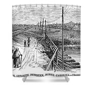 Freedmens Village, 1866 Shower Curtain