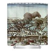 French Revolution, 1793 Shower Curtain