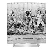 Fugitive Slave Law Shower Curtain
