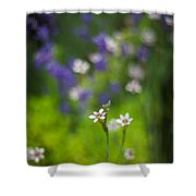 Garden Of Bliss Shower Curtain
