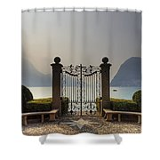 Gateway To The Lake Of Lugano Shower Curtain
