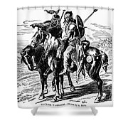 Gaulish Warriors Shower Curtain