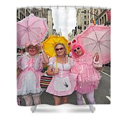 Gay Pride Nyc 2011 Shower Curtain