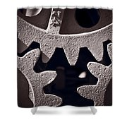 Gears Number 2 Shower Curtain