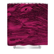 Gentle Giant In Hot Pink Shower Curtain