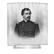George Brinton Mcclellan Shower Curtain