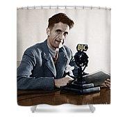 George Orwell (1903-1950) Shower Curtain