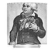 Georges Danton (1759-1794) Shower Curtain