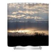 Gettysburg Dawn Shower Curtain