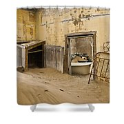 Ghost Town Boarding House Shower Curtain