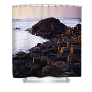 Giants Causeway, Co Antrim, Ireland Shower Curtain
