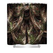 Gnarled Shower Curtain