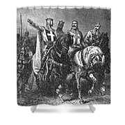 Godfrey (1058-1100) Shower Curtain