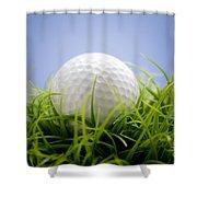 Golfball Shower Curtain