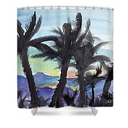 Good Morning From Hawaii Shower Curtain
