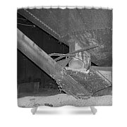 Grain Processing Facility In Mclean Illinois 1 Shower Curtain