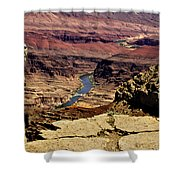 Grand Canyon Colorado River Shower Curtain
