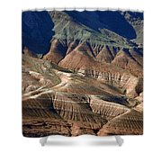 Grand Canyon Rock Formations IIi Shower Curtain