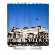 Grand Theatre In Warsaw Shower Curtain