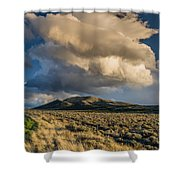 Great Basin Cloud Shower Curtain