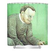 Gregor Mendel, Father Of Genetics Shower Curtain