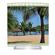 Guatamala Beach Shower Curtain