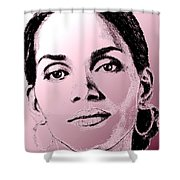 Halle Berry In 2008 Shower Curtain