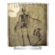 Happy Halloween Shower Curtain by Jeff Burgess