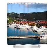 Harbor Paradise Shower Curtain