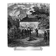 Harpers Ferry Insurrection, 1859 Shower Curtain