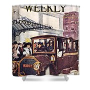 Harpers Weekly, 1913 Shower Curtain