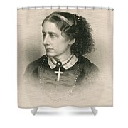 Harriet Beecher Stowe, American Shower Curtain by Photo Researchers