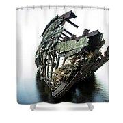 Harvey Neelon Shipwreck So They Say... Shower Curtain