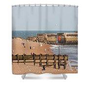 Hastings Beach Shower Curtain