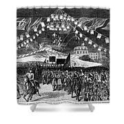 Hayes Inauguration, 1877 Shower Curtain by Granger