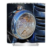 Headlamp Out Shower Curtain