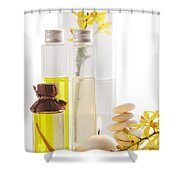 Health Spa Concepts Shower Curtain