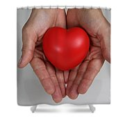 Heart Disease Prevention Shower Curtain