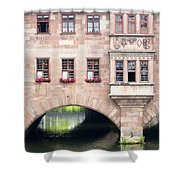 Heilig Geist Spital Shower Curtain
