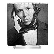 Herbert Spencer, English Polymath Shower Curtain