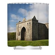 Hermitage Castle Shower Curtain