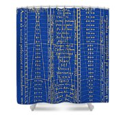 Hierarchy Of The Universe, 1617 Shower Curtain