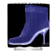 High Heel Boot X-ray Shower Curtain