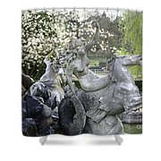 Hippocampus Shower Curtain