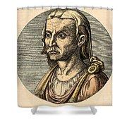 Hippocrates, Greek Physician Shower Curtain