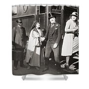 His Smothered Love, 1918 Shower Curtain