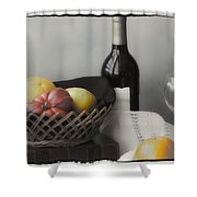 Homage Cezanne Shower Curtain
