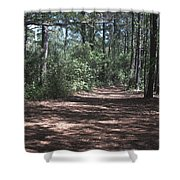 Horse Path Shower Curtain